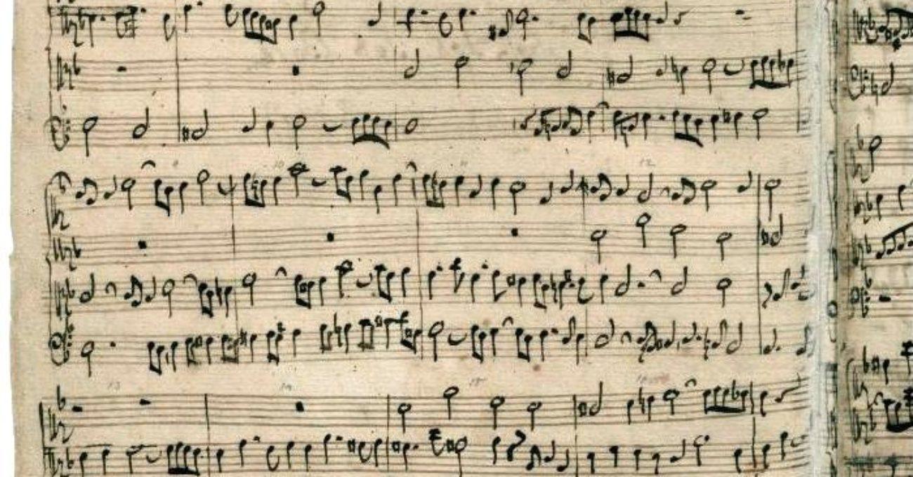 Partition - L'Art de la fugue - J.S Bach